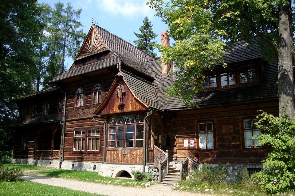 Zakopane - chiamata la Capitale invernale polacca