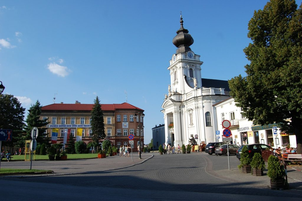 Wadowice - chiesa parrocchiale